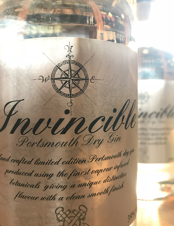 Limited edition Portsmouth dry gin