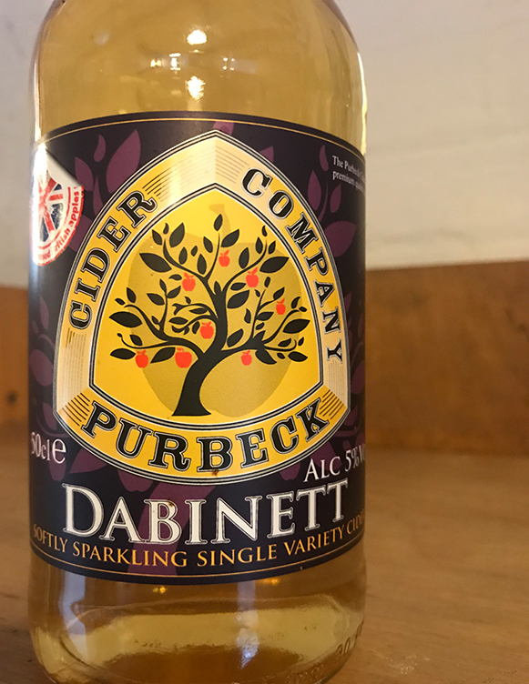 A full-bodied still medium cider