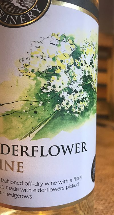 Elderflower Wine is an old fashioned off-dry wine with a floral bouquet.