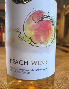 Peach Wine is a medium Sweet