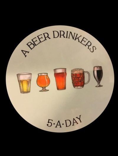 Beer Coaster 5-a-day