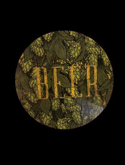 Beer Coaster hops