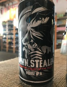 Heavily hopped with Amarillo this Black IPA blends notes of dark berries with rich roasted malts.
