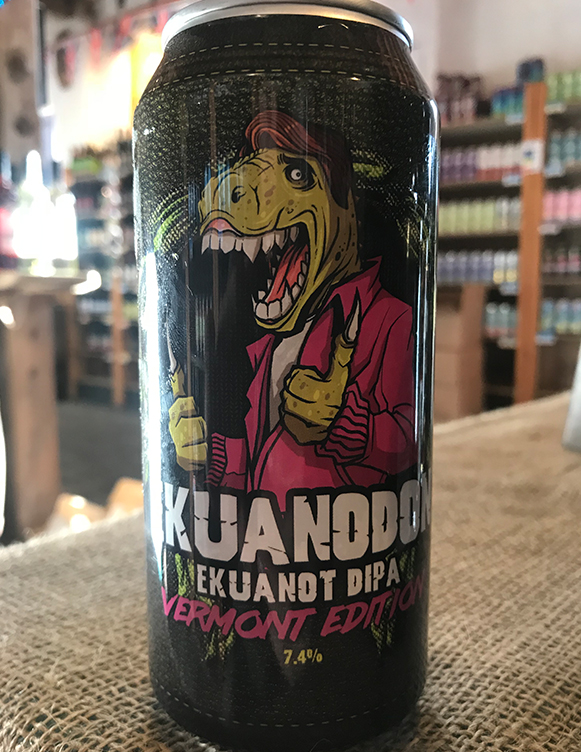 Ekuanot hops dominate bringing pine