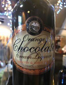 A deliciously orangey chocolate treat.