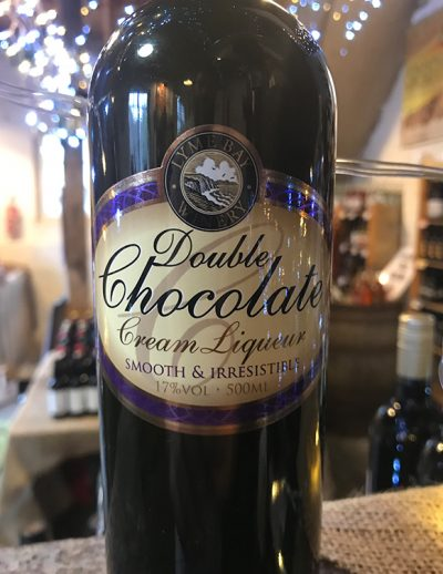 A chocolate treat for any time of the year! The dark chocolate is perfectly complimented by the warmth of brandy and the smoothness of cream