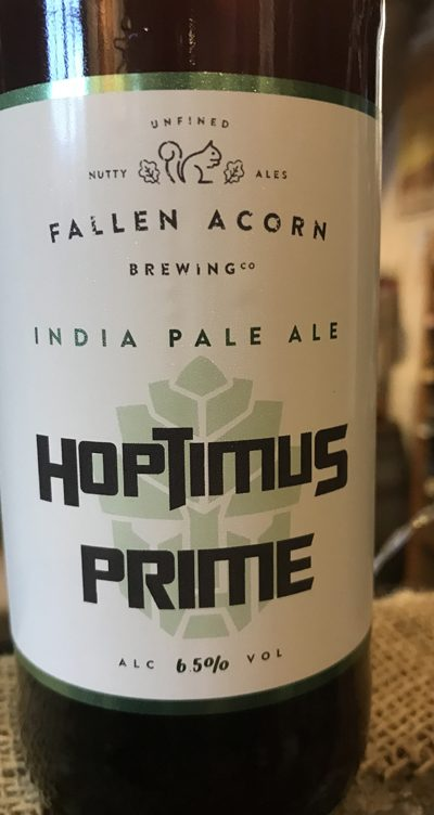 A transformation of Fallen Acorn's Expedition IPA featuring crunchy new world hops and shovel-loads of dry hopping
