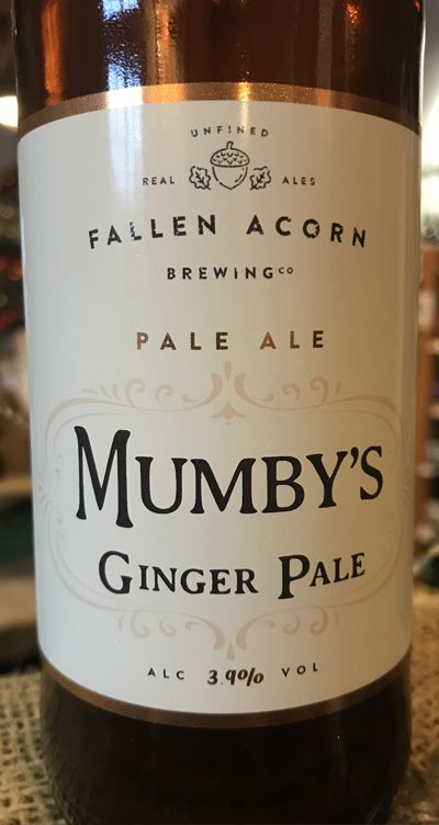 This unfined pale ale is hopped with experimental British hops that possess a Ginger aroma as well as being infused with Ginger root.