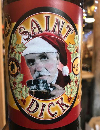 Special edition for Christmas. Saint Dick has a festive fruity taste with blackcurrant