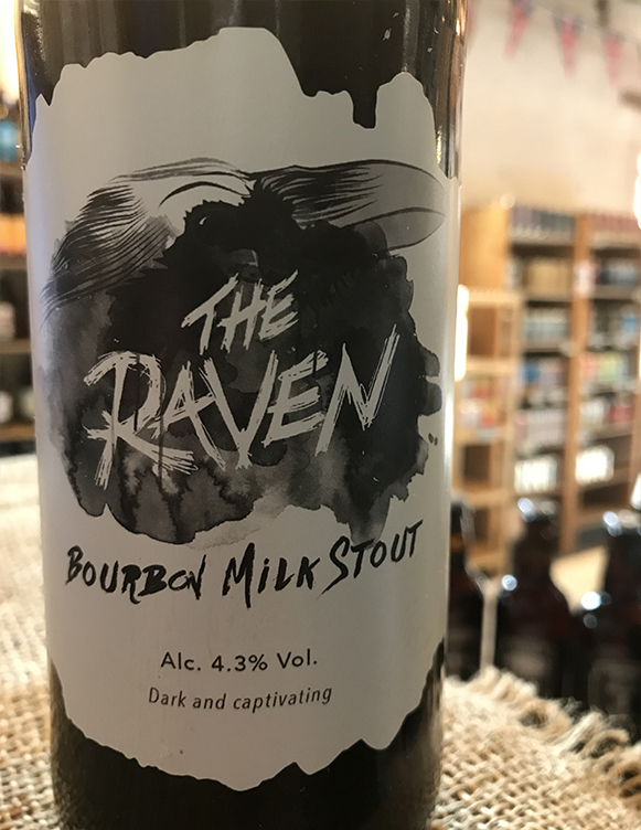 The Raven Bourbon Milk Stout