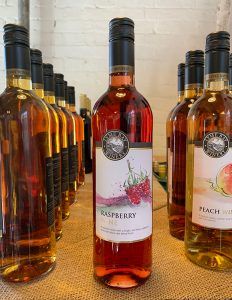 This Raspberry Fruit Wine is a medium wine with a ripe raspberry character & a real berry aroma.