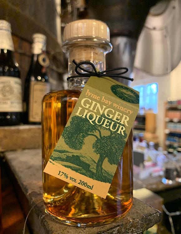 Ginger Liqueur