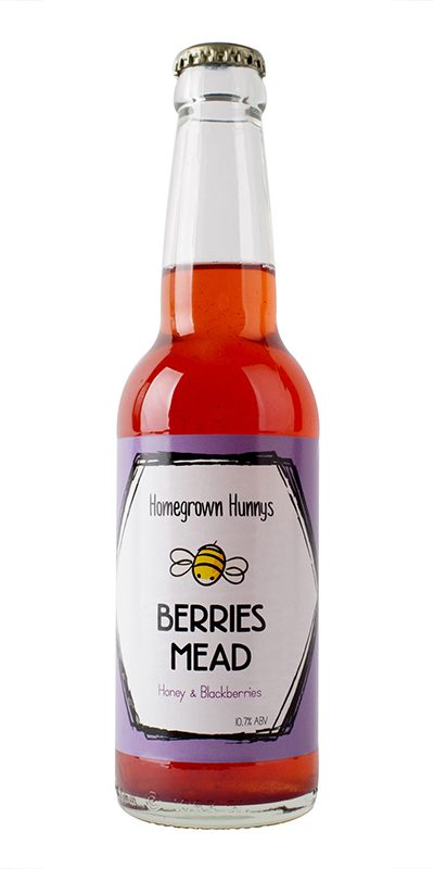 A fruity berry mead with hints of vanilla.