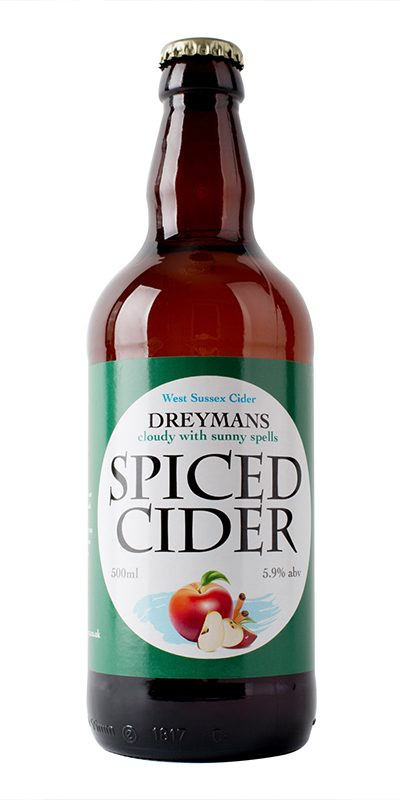 An exquisite-medium cider. Hand blended with aromatic spices. Serve chilled over ice for those long summer Eve'