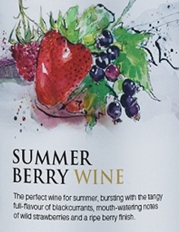 Summer Berry Wine