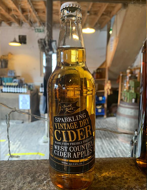 Vintage Dry Sparkling Cider